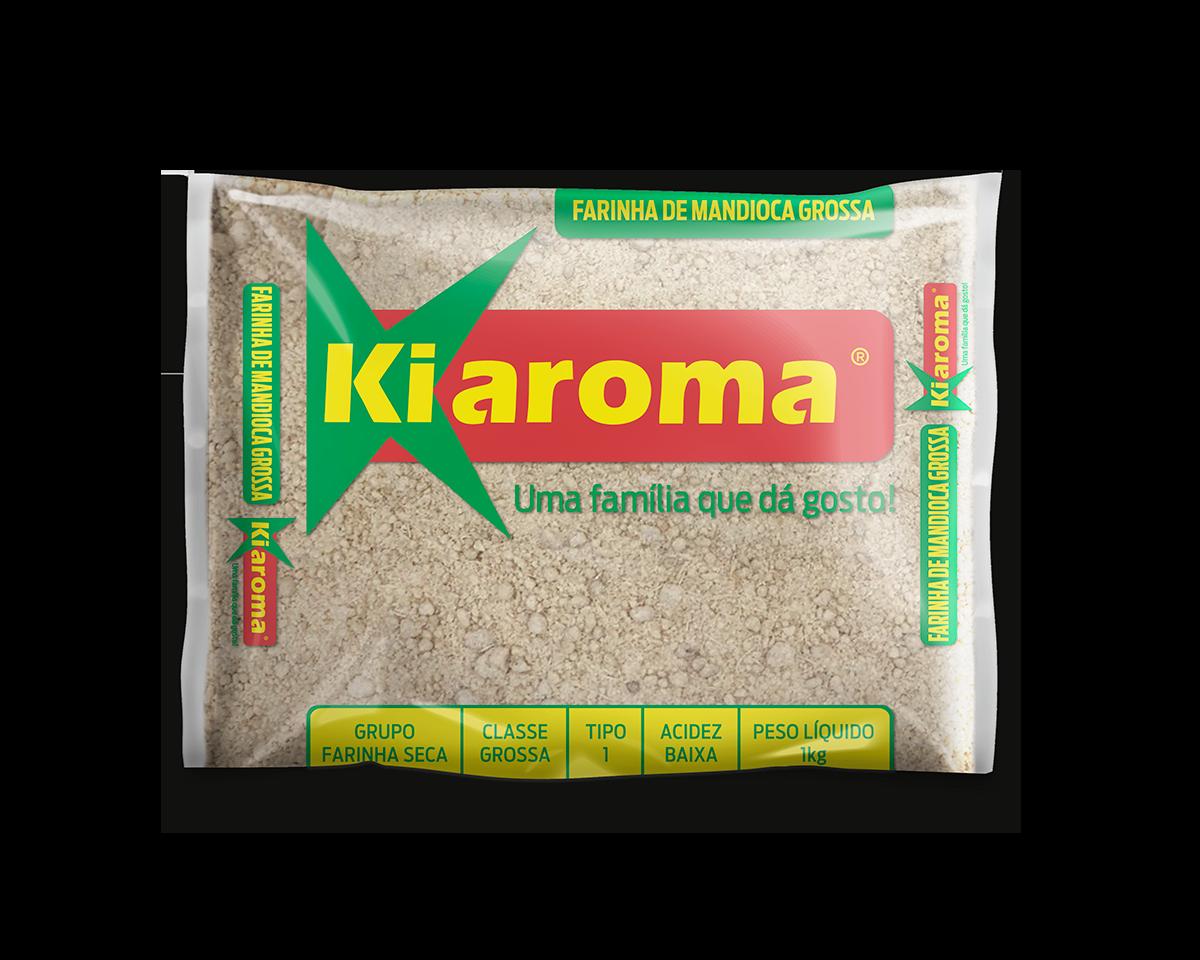 Farinha de Mandioca Grossa 1kg